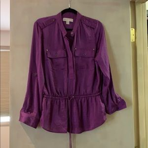 Michael Kors Purple top